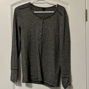 J. Crew heathered henley